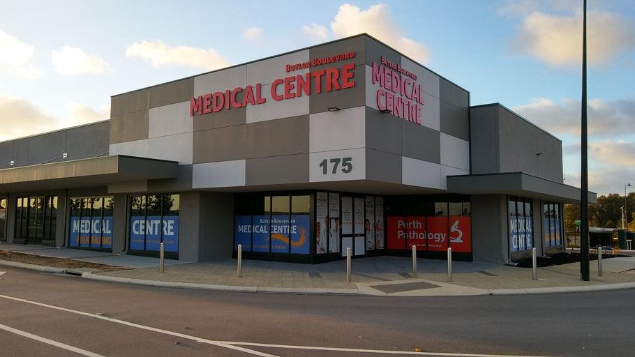 Butler Boulevard Medical Centre Signage | Butler | Perth | Premises Signage | 3D Letters | Window Sign Maker | Design