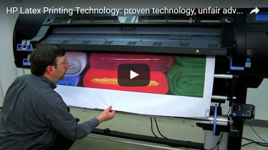 Check out the video on our latest HP Latex printing technology!