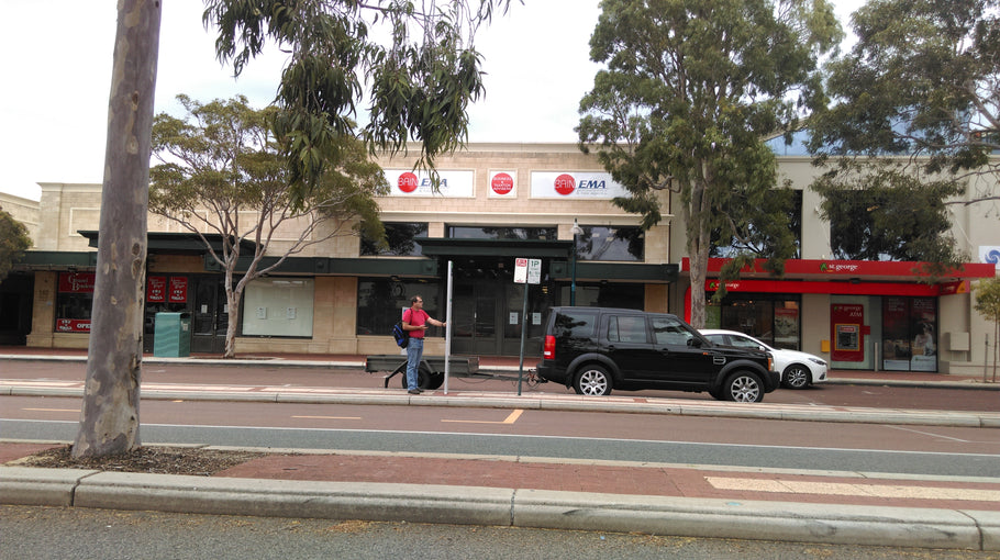 Bain EMA Accountants & Tax Agents | Joondalup | Shopfront Signs | Premises Signage | Metal A-Frame