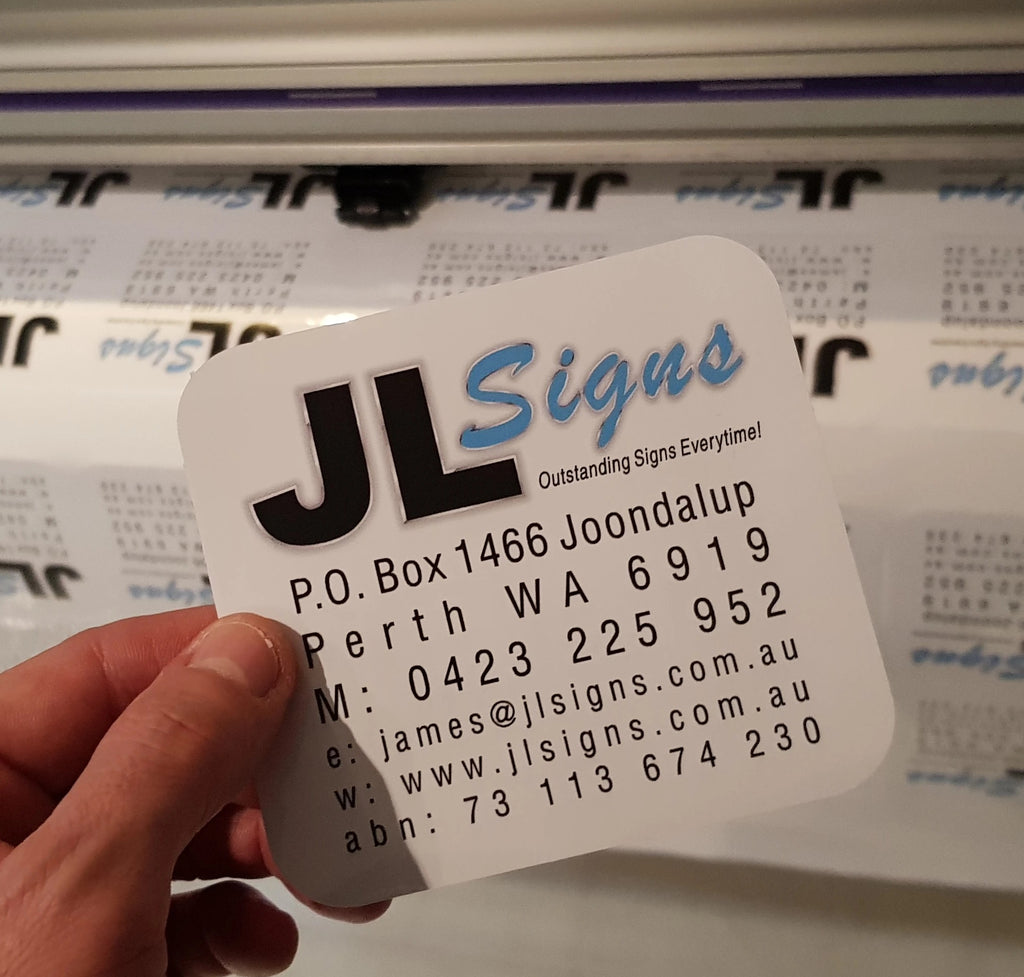 Custom Stickers Butler | Your Local Signage Maker | JL Signs