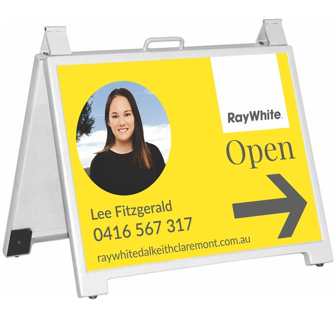Real Estate A-Frame Sign Perth Joondalup Mindarie Clarkson WA