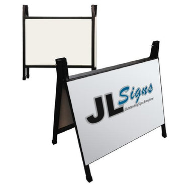 Metal Reverse Folding A-Frame Sign 600 x 450mm (choose from different qtys to reduce unit cost)