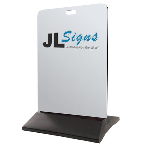 T-Frame A-Frame Metal Signage Perth WA Sign Joondalup Alkimos Clarkson Yanchep