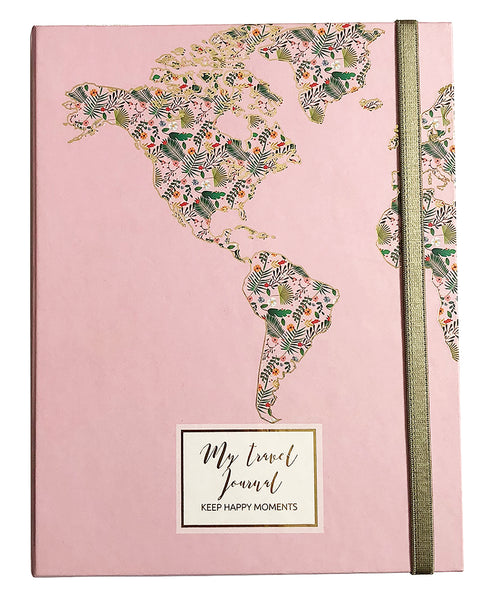 Agenda de Viaje Pink  - Travel Journal