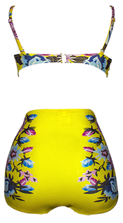 Vestido de Baño Yellow Summer Lady