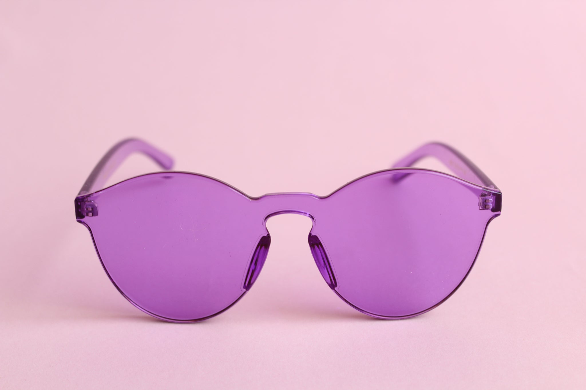 Gafas Heart of Glass  Morado