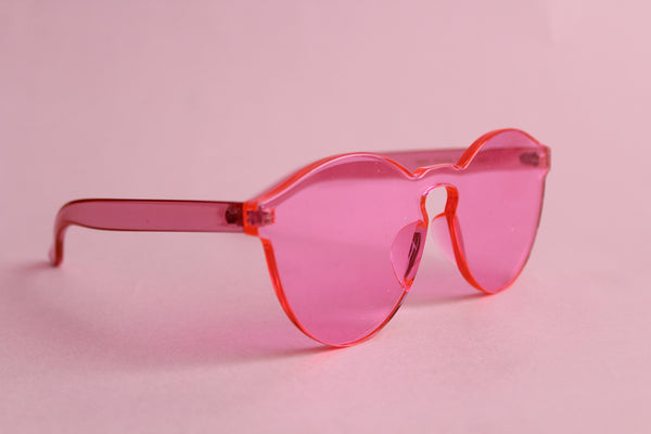 Gafas Heart of Glass Rosa