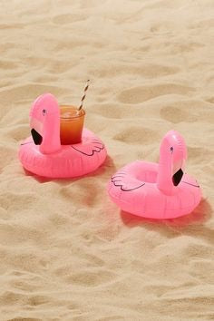 3 Pack Drink Holders Flamingo, Donut and Unicorn