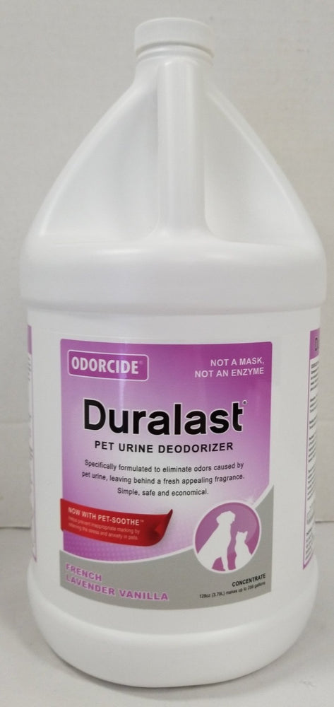 9 Duralast Odorcide French Lavender Vanilla with Pet-Soothe