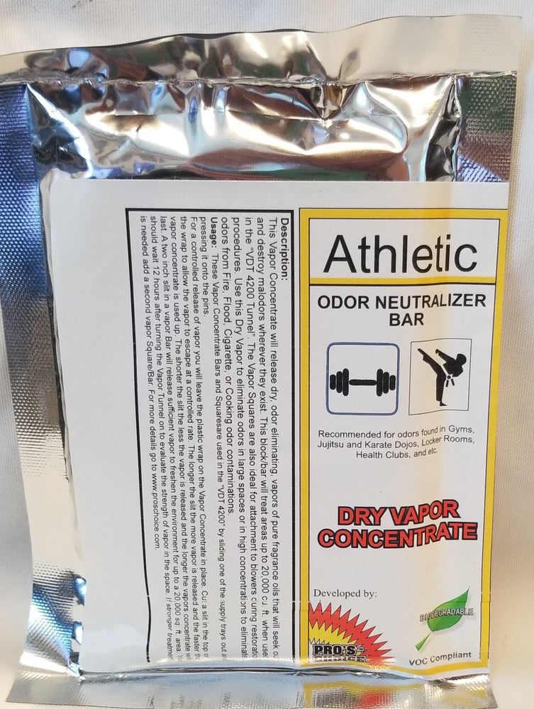 "4 ) Pro's Choice ""Athletic"" Dry Vapor Concentrate Bar"