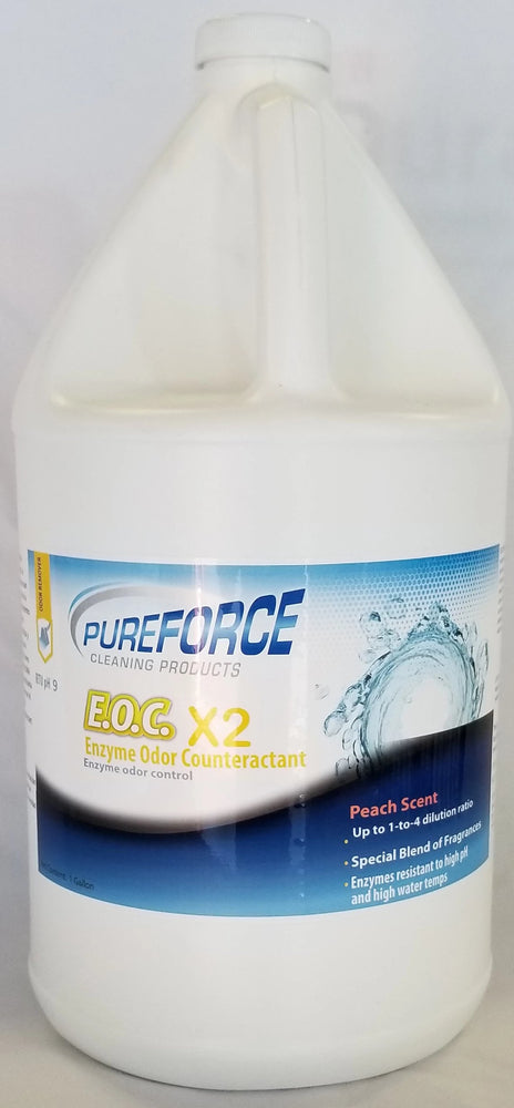 1 PureForce E.O.C. x2 Enzyme Odor Peach Scent