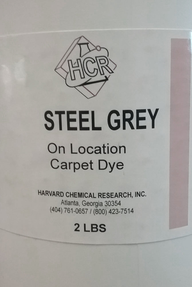 H Harvard Steel Grey Carpet Dye