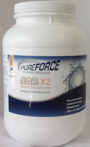 1 Pureforce S.O.R. X2 ( Best Urine Stain and Spot Remover)