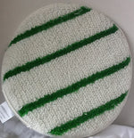 6 Pad Green and White Stripes