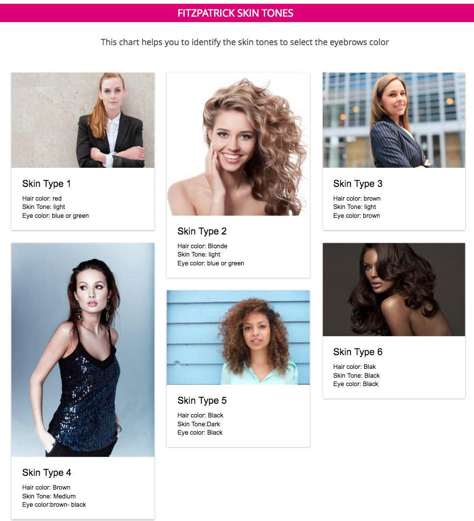 Hair Color Chart Skin Tone Ibovnathandedecker