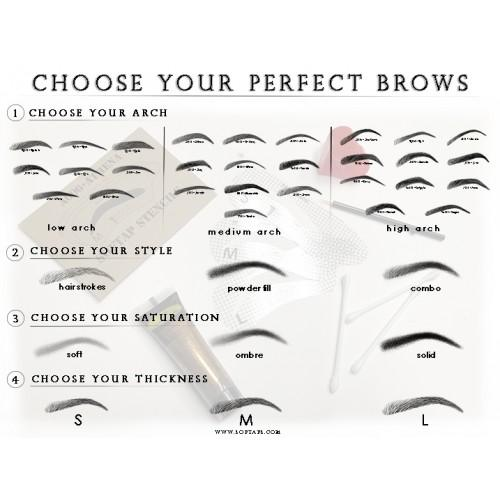 Poster: Choose Your Perfect Brow