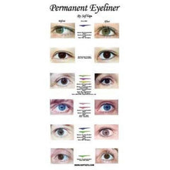 Poster: Before & After Eyeliner