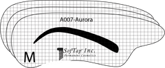 Stencil for Eyebrows A007 - Aurora