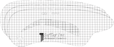 Stencil for Eyebrows I001 - Irene