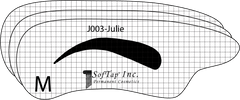 Stencil for Eyebrows J003 - Julie