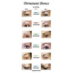 Poster: Before & After Eye Brow