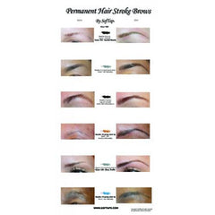 Poster: Before & After Hair Stroke Eyebrow