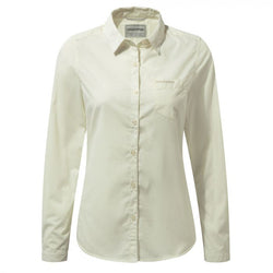 Tilley Craghoppers Kiwi Long Sleeved Shirt CWS462 Sea Salt