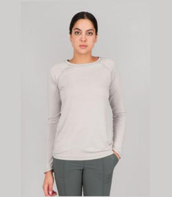 Indygena Milgin Top W911T28 Grey Heather