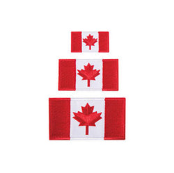 Tilley Austin House Canada Flag Patch