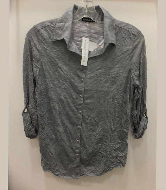 Tilley David Cline Button Front Shirt 5600C Silver