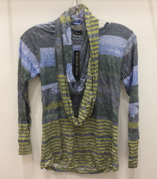 Tilley David Cline Crew Neck with Scarf 5730C Peri