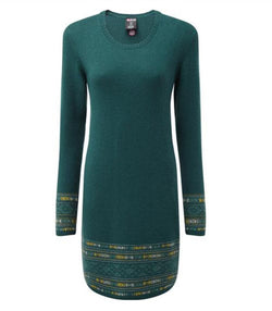 Tilley Sherpa Maya Jacquard Dress SW6108 Rathna Green