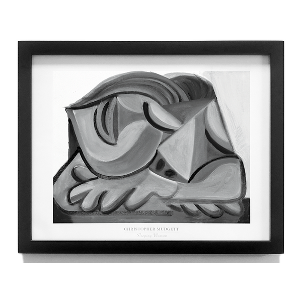 Sleeping Woman - Fine Art Print