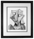 Star Girl, Limited Edition Print in custom traditional style wood frame