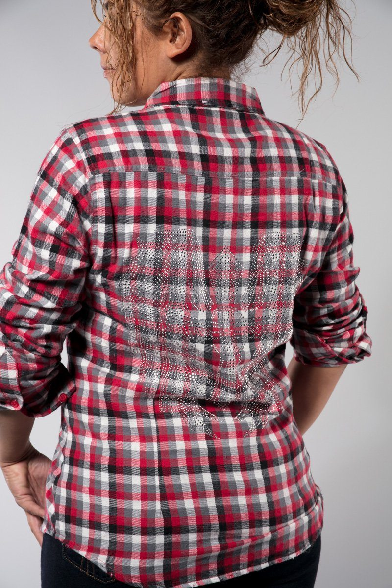 Wing and Cross Flannel Shirt