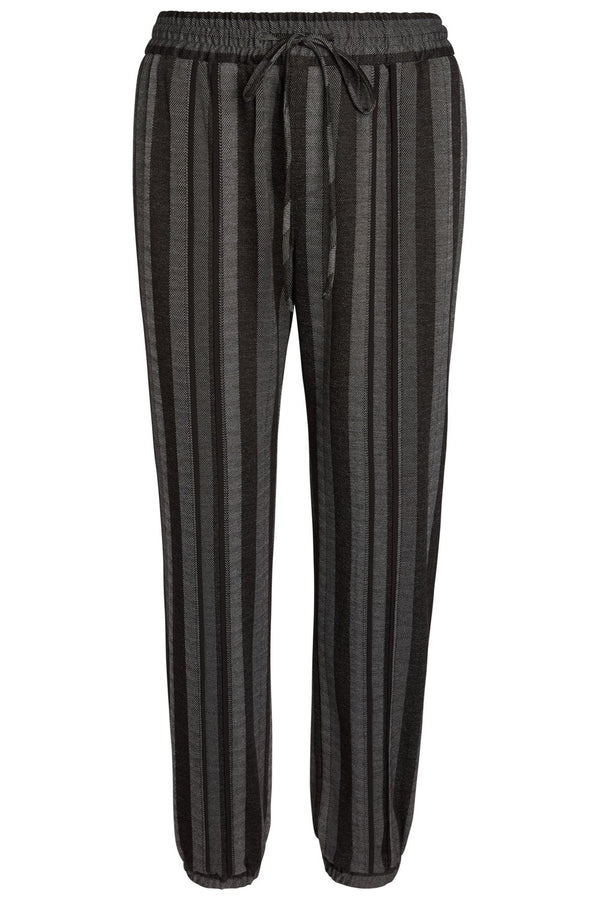 Dillon Dressy Track Pant in Black and Grey by the Cause Collection.