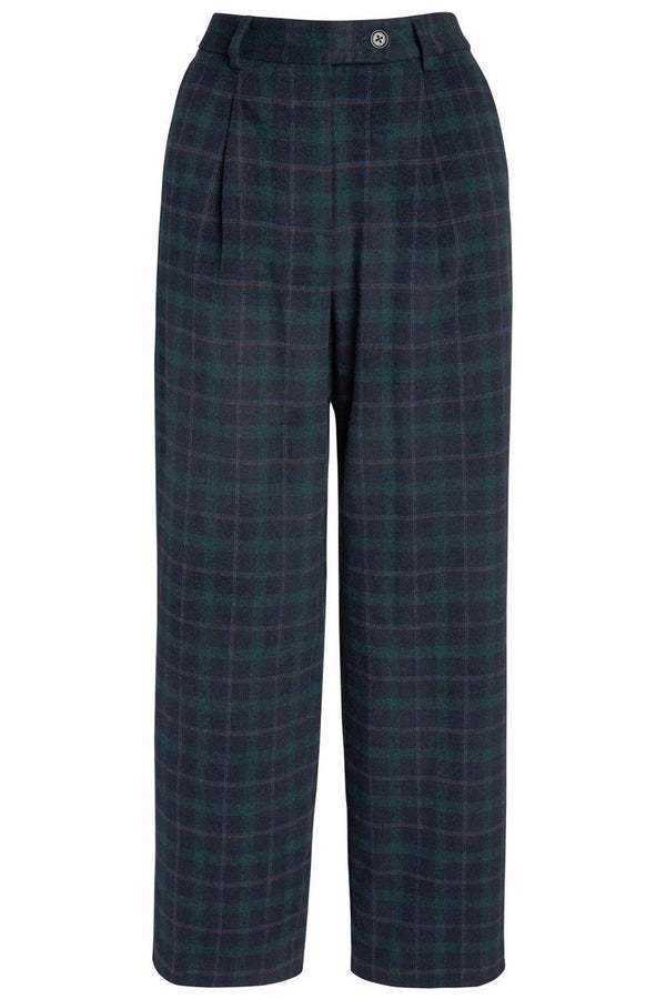 Ashby High-Waisted Pant with Pleats for Long Legs