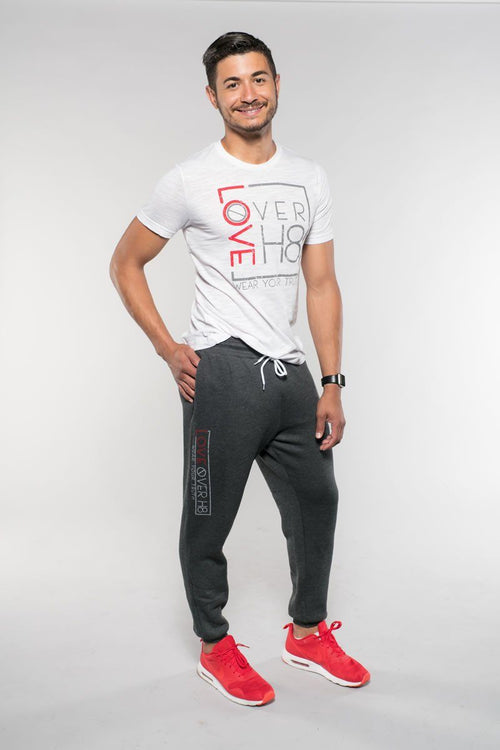 Love Over H8 Boyfriend Fit Jogger created by Cheryl Najafi