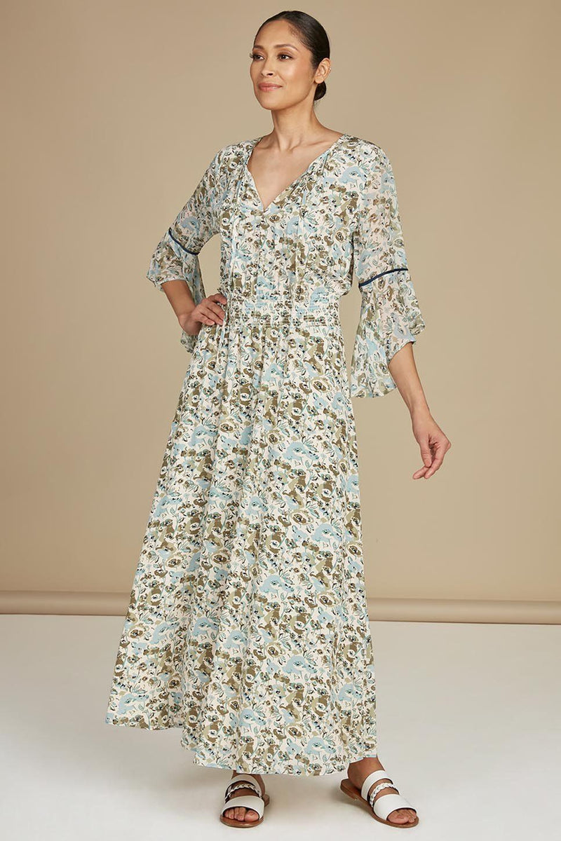 Doheny Silk Maxi Dress