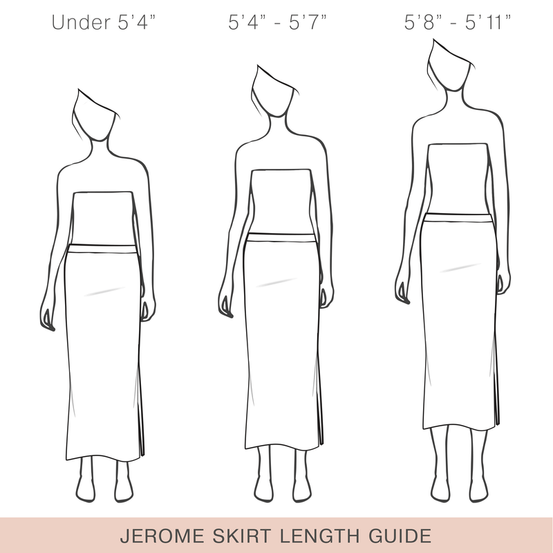 Jerome Silk Midi Skirt