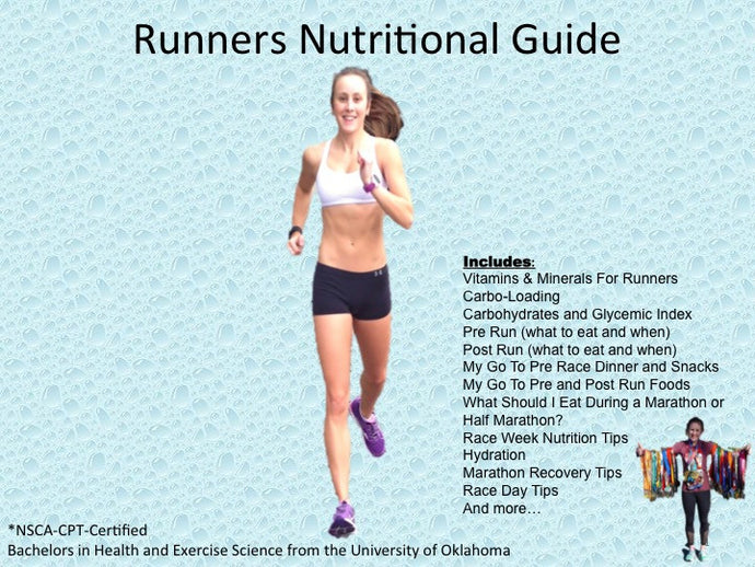 MCM Runners Nutritional Guide