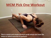 MCM Quick Workout Guide