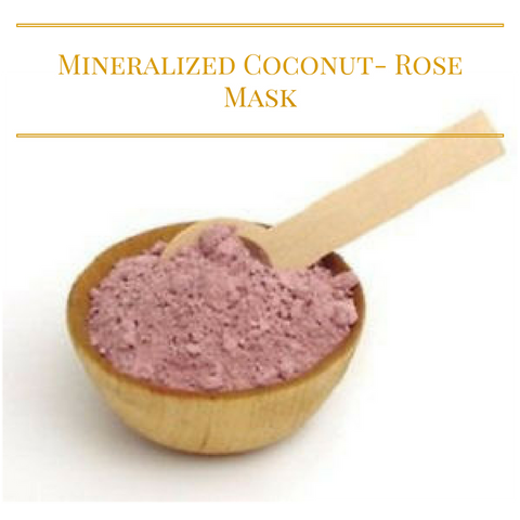 Mineralized Coconut- Rose Mask