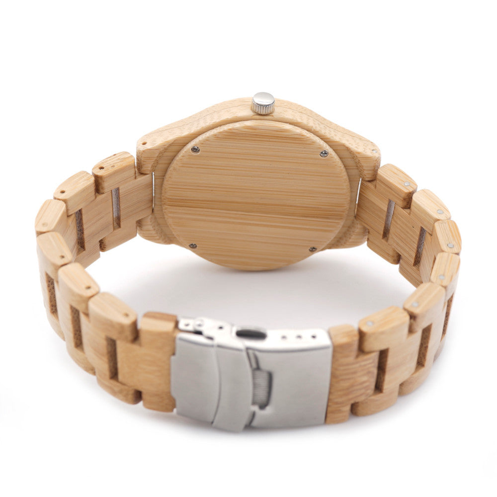 BOBO BIRD Full Bamboo Wooden Watch in Gift Box