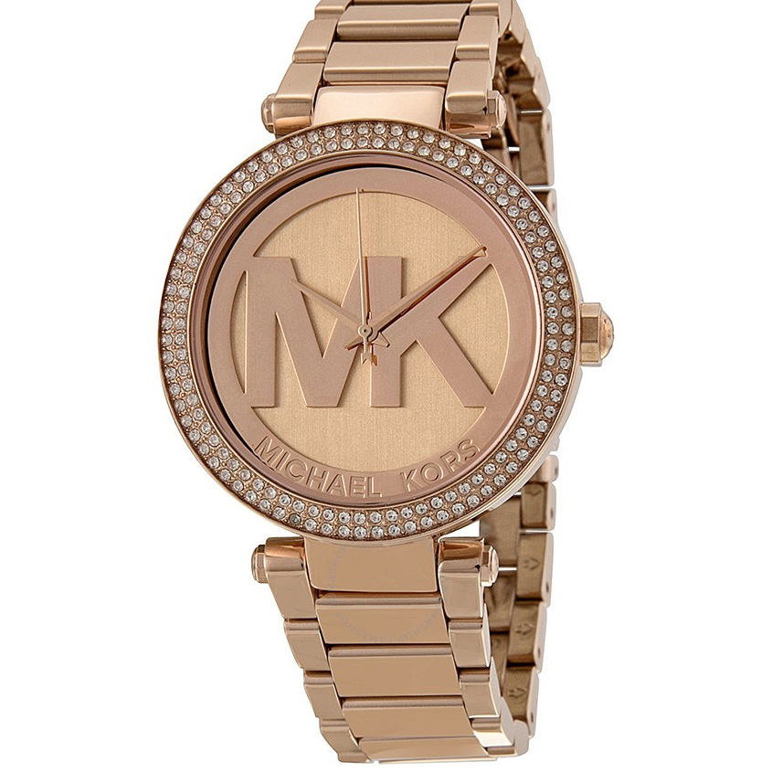 Parker Dial Rose Gold-tone Ladies Watch