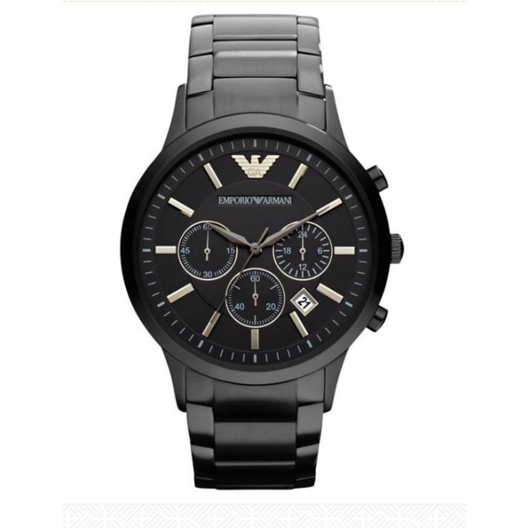 Emporio Armani Classic Chronograph Black Dial Men's Watch