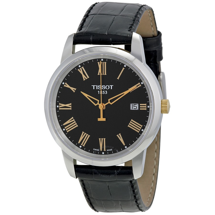 Tissot T-Classic Dream Black Dial Men's Watch T033.410.26.053.00