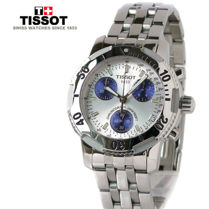 T17.1.486.34  NEW TISSOT T-SPORT PRS200 QUARTZ CHRONOGRAPH MEN'S WATCH