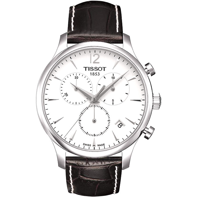TISSOT TRADITION CHRONOGRAPH QUARTZ MEN'S WATCH   T063.617.16.037.00