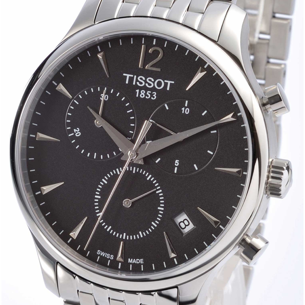 TISSOT TRADITION CHRONOGRAPH QUARTZ MEN'S WATCH   T063.617.11.067.00
